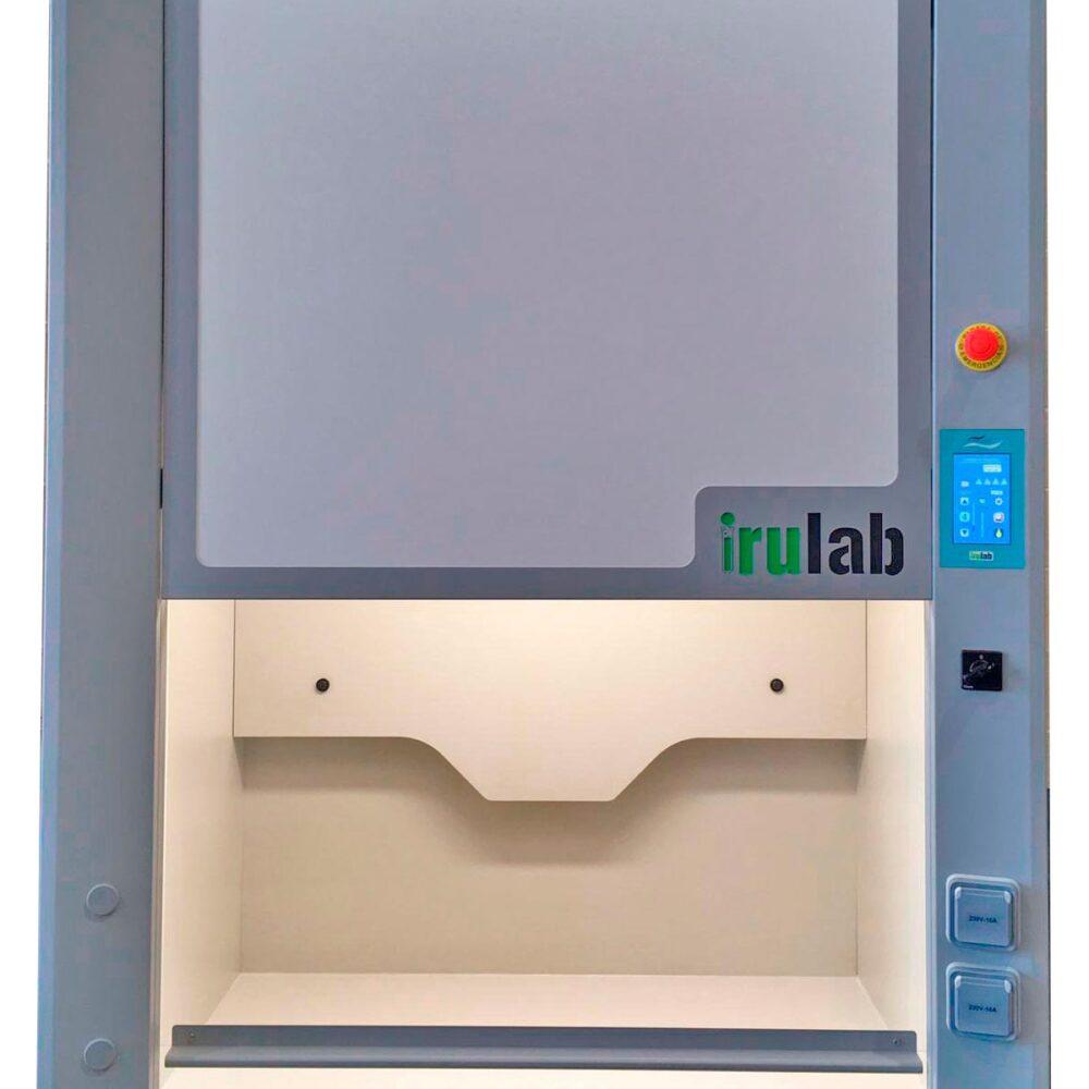 Vitrina extractora de gases de laboratorio